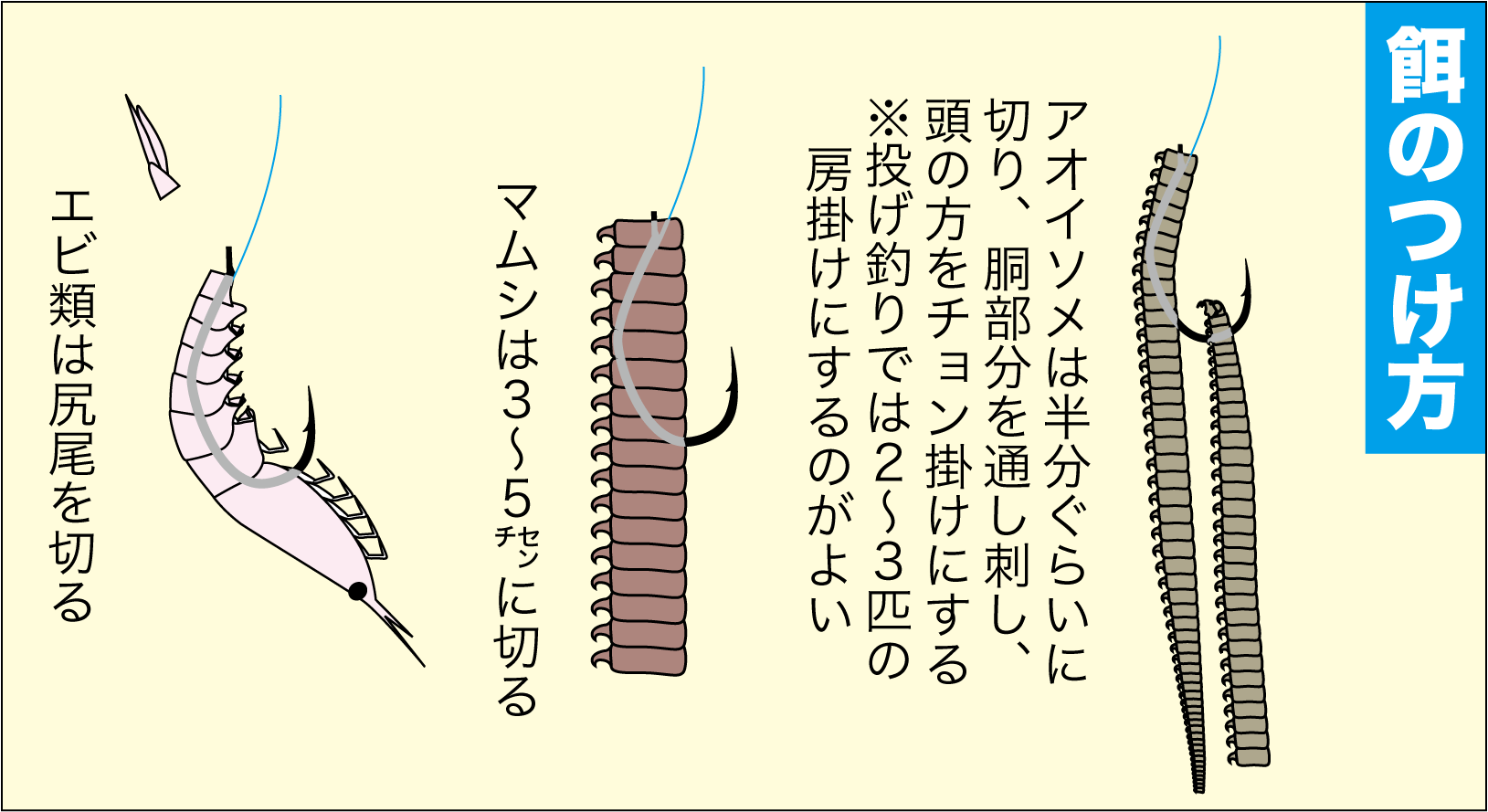 アイナメ釣り方4