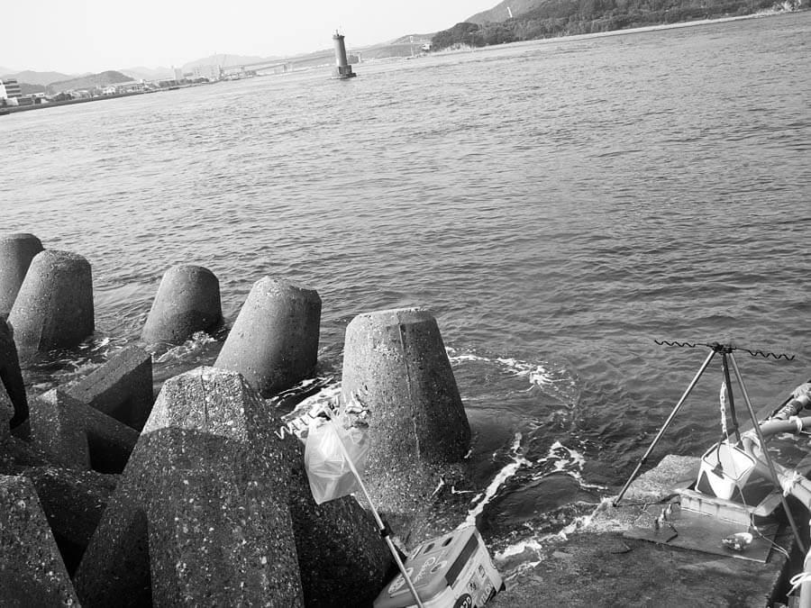 春型カレイ釣り場2