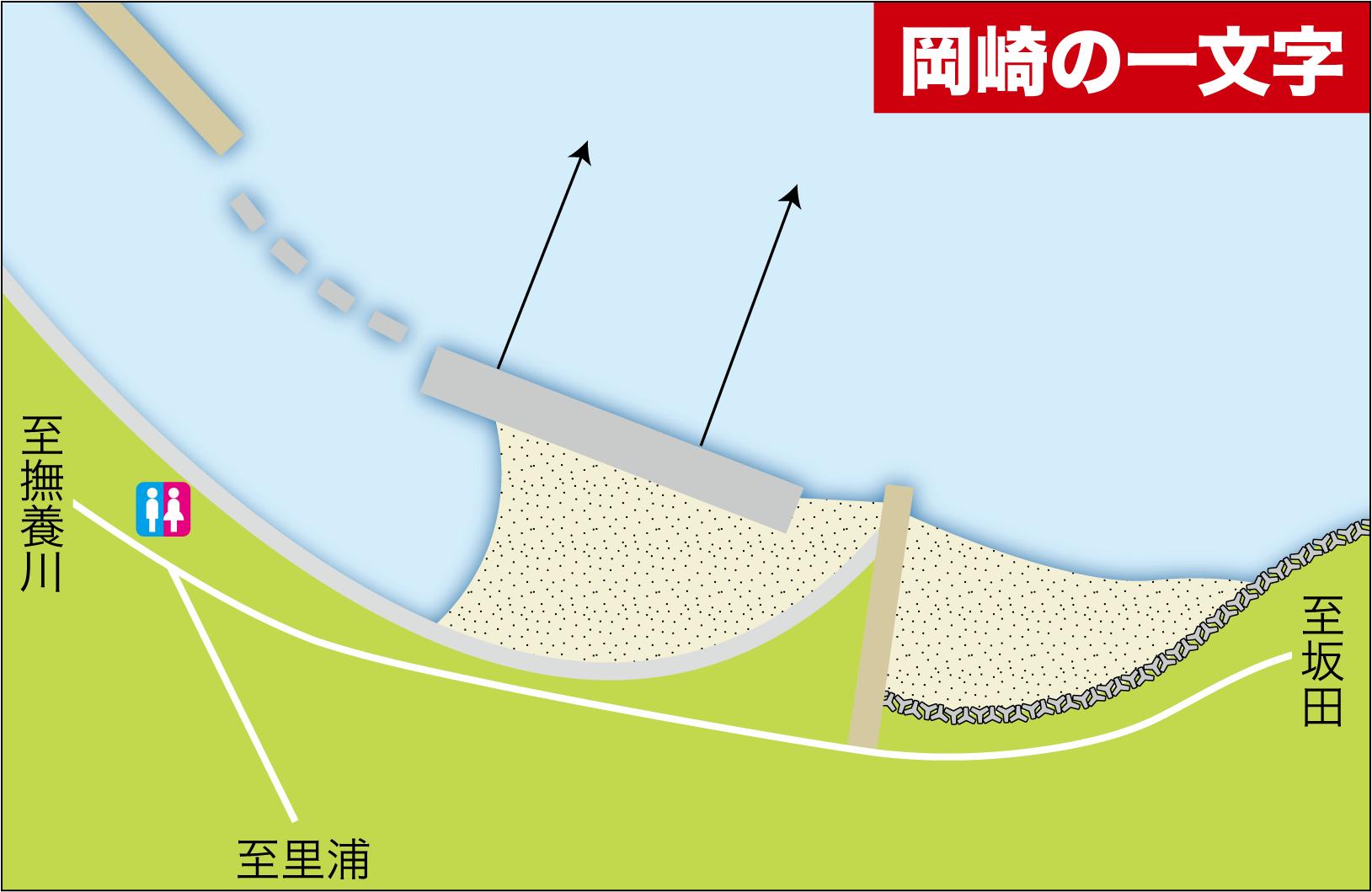 春型カレイ釣り場3