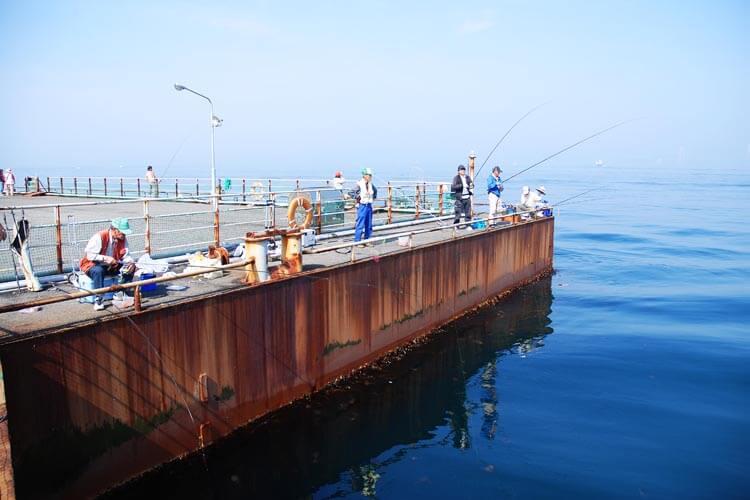 釣り公園メガフロート5