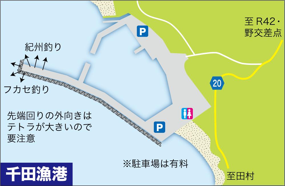 大物釣り場千田漁港