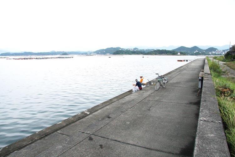 釣り場ガイド ホテル川久裏1