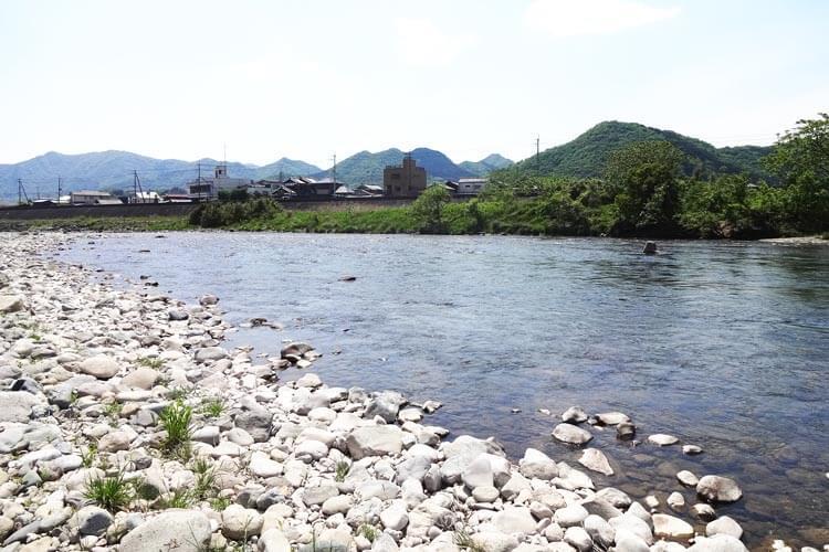 アユ釣り場1揖保川3