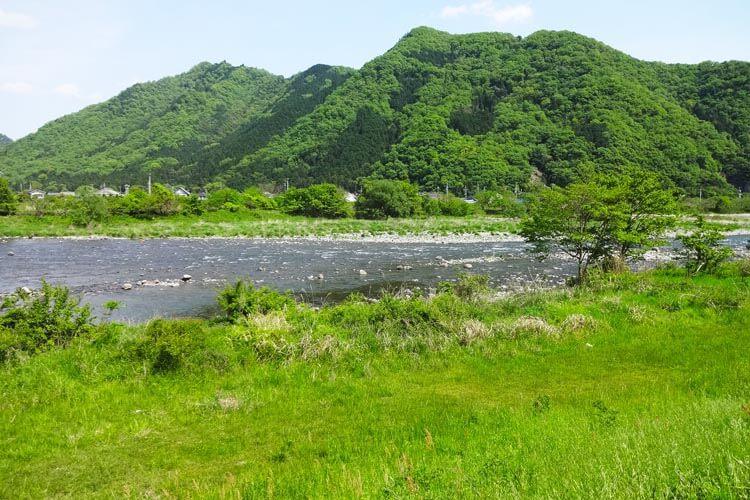 アユ釣り場1揖保川7