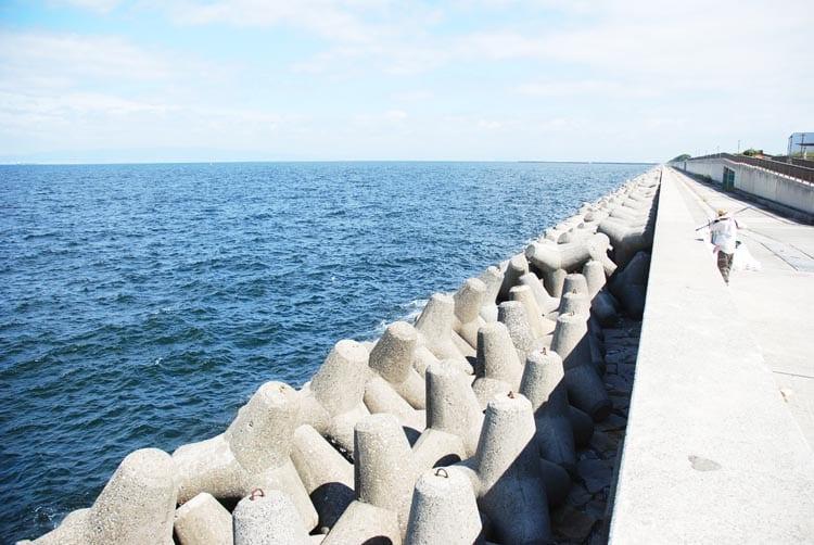 キス釣り場4 貝塚人工島1