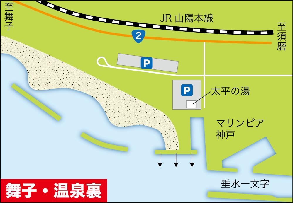 大物釣り場大阪湾・舞子温泉裏