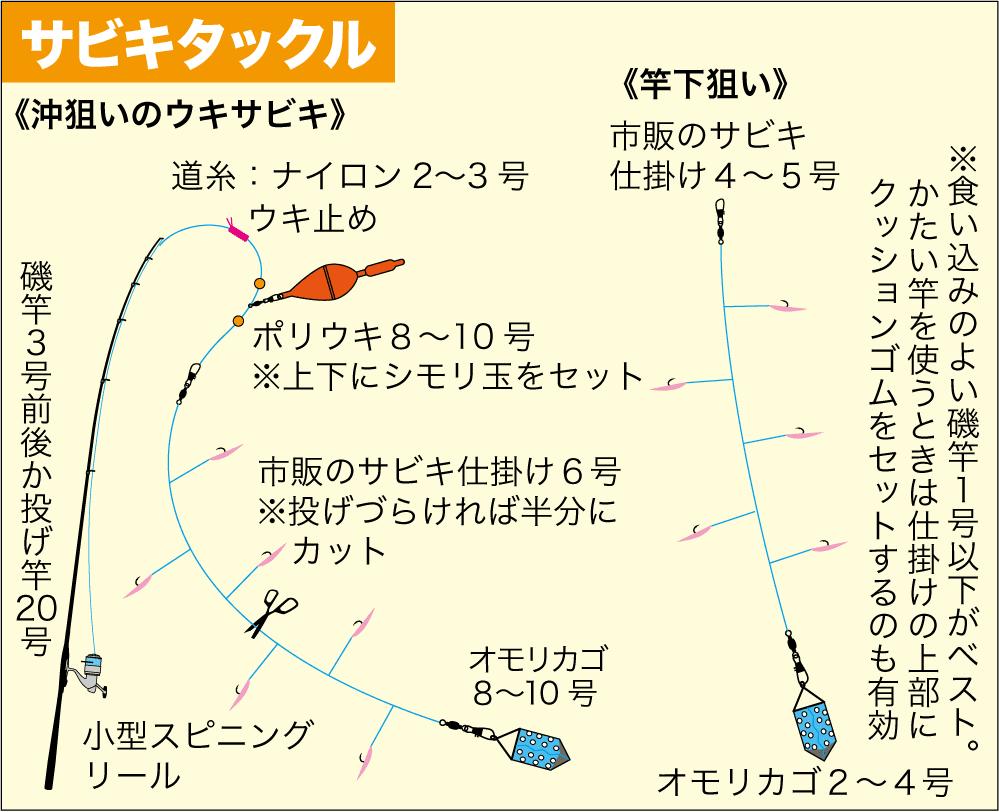 サビキ釣り必釣ガイド3