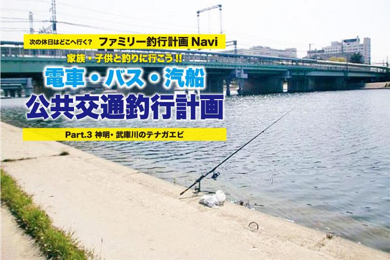 公共交通3武庫川テナガエビ7