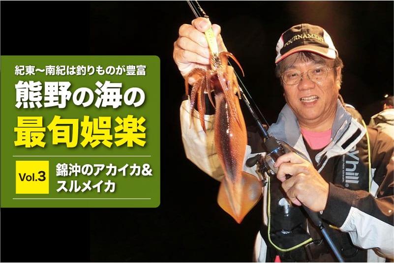 熊野最旬3 錦沖のイカメタル12