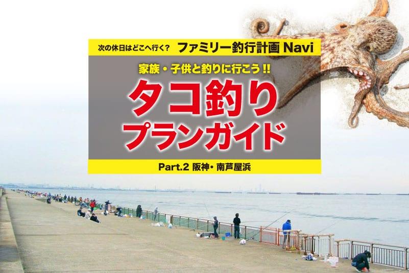 タコ釣り 南芦屋浜10