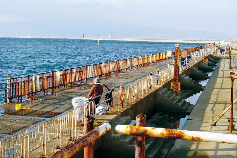 大阪南港魚つり園1