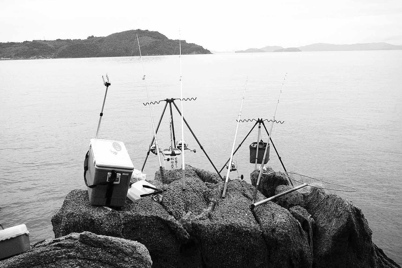 投げ釣り夏夜スズキ11手島