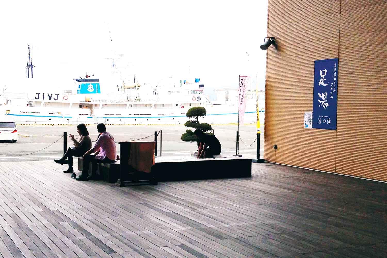 沖アミレンガ1つ小浜港サヨリ5