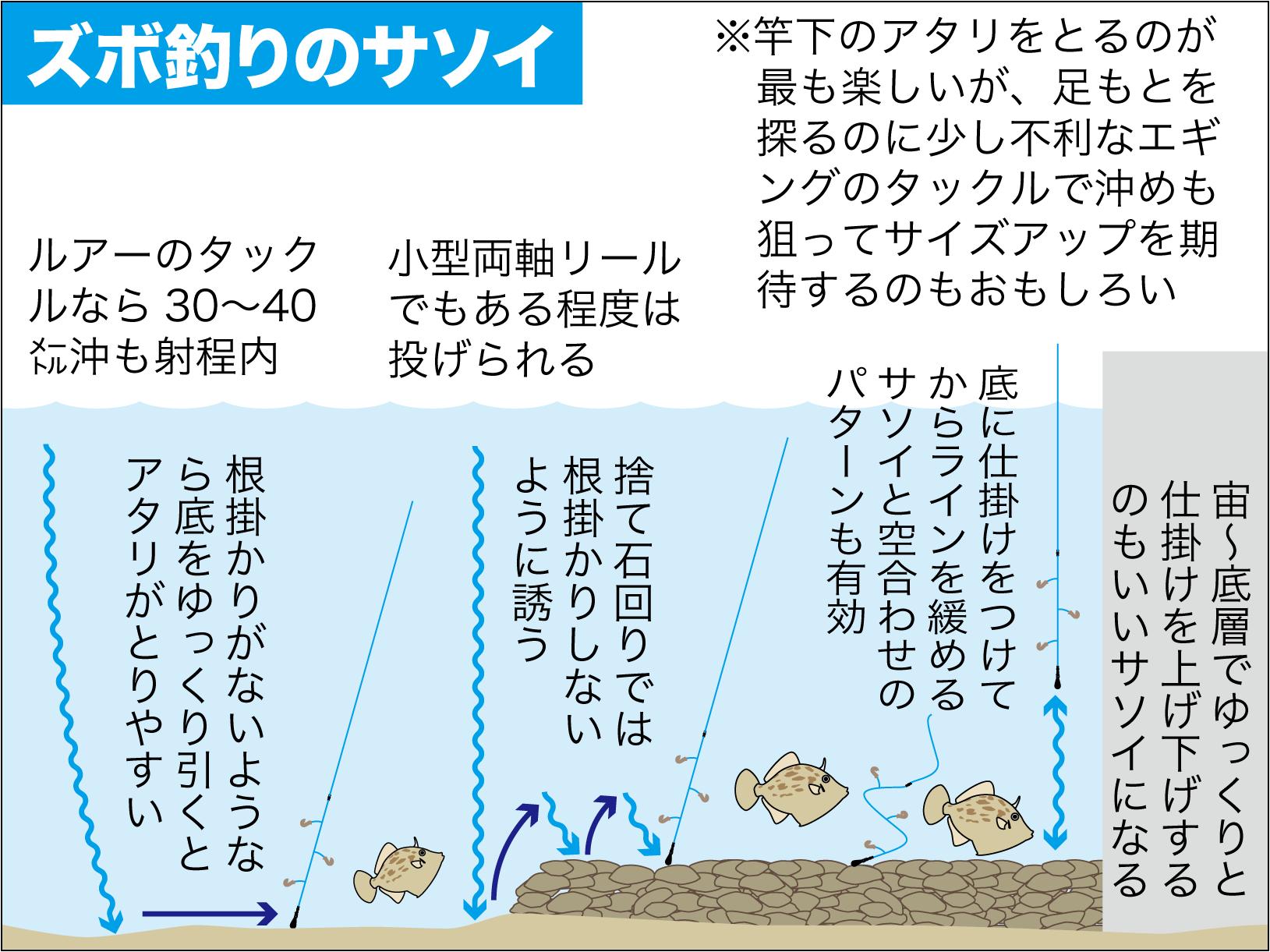 カワハギの釣り方8