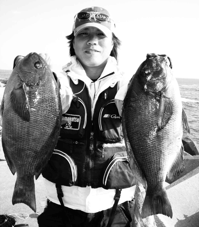 波止釣り中紀グレ3