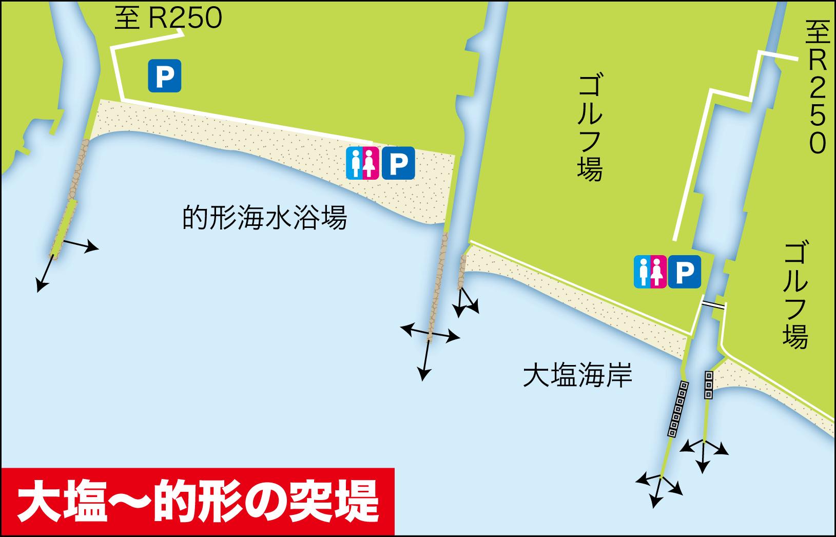 タチウオ(太刀魚)釣り場2