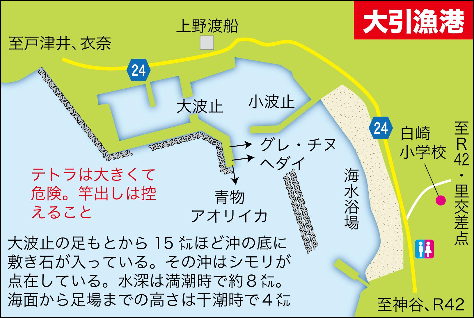 沖アミレンガ1つ大引漁港9