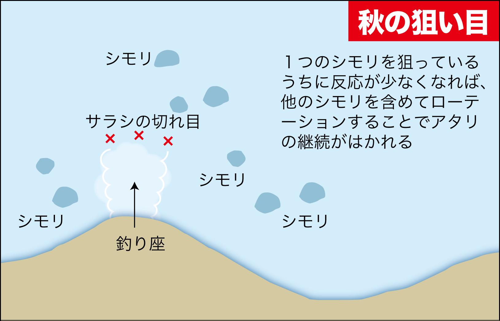 晩秋グレ攻略7