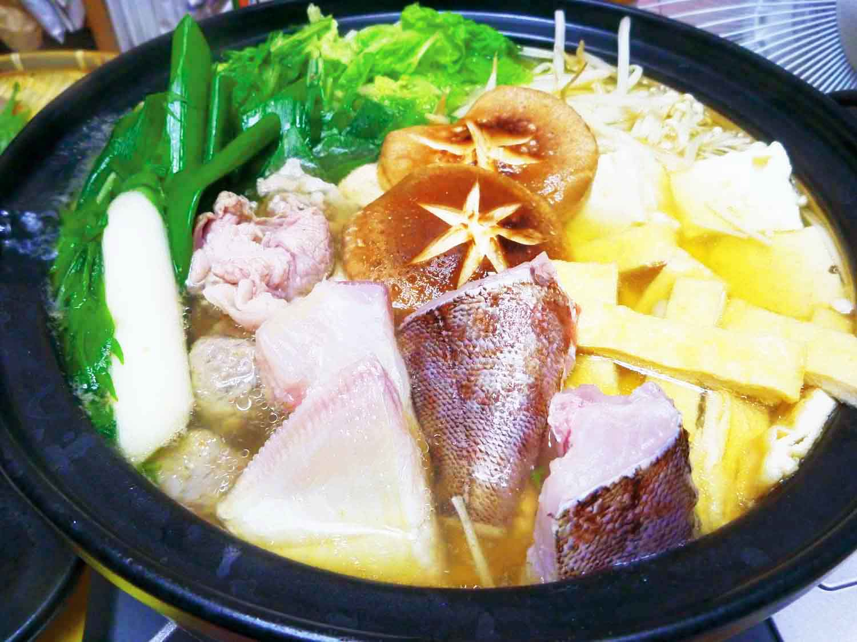 釣魚鍋料理1