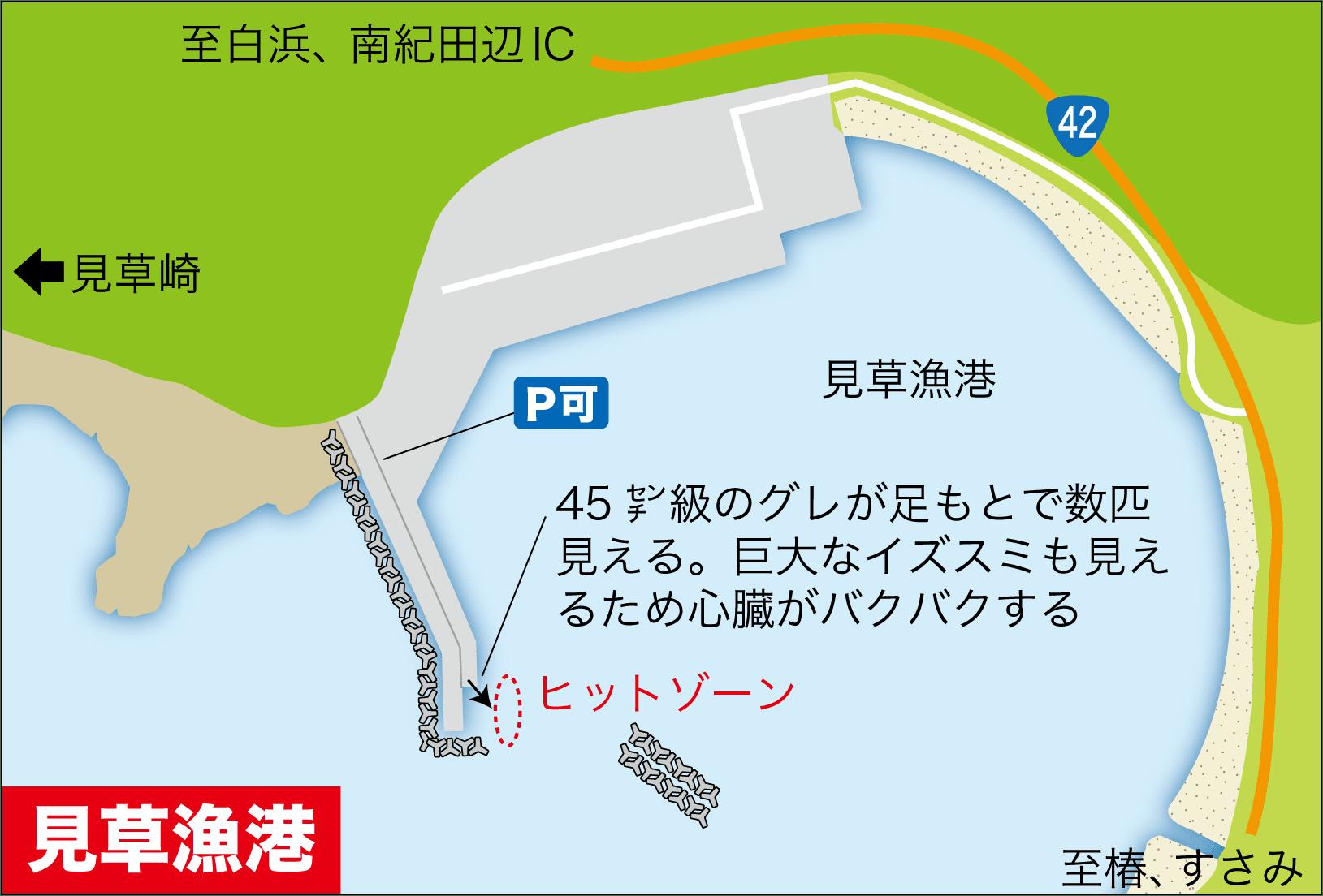 ライブショット16見草漁港グレ2