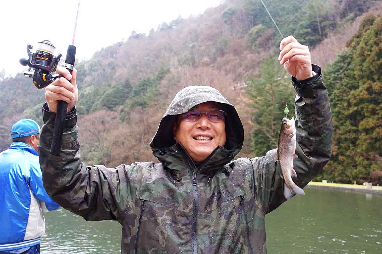 ゆかぼん6千早川マス釣り11