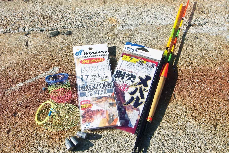 お手軽カゴ釣り2洲本港メバルガシラ11