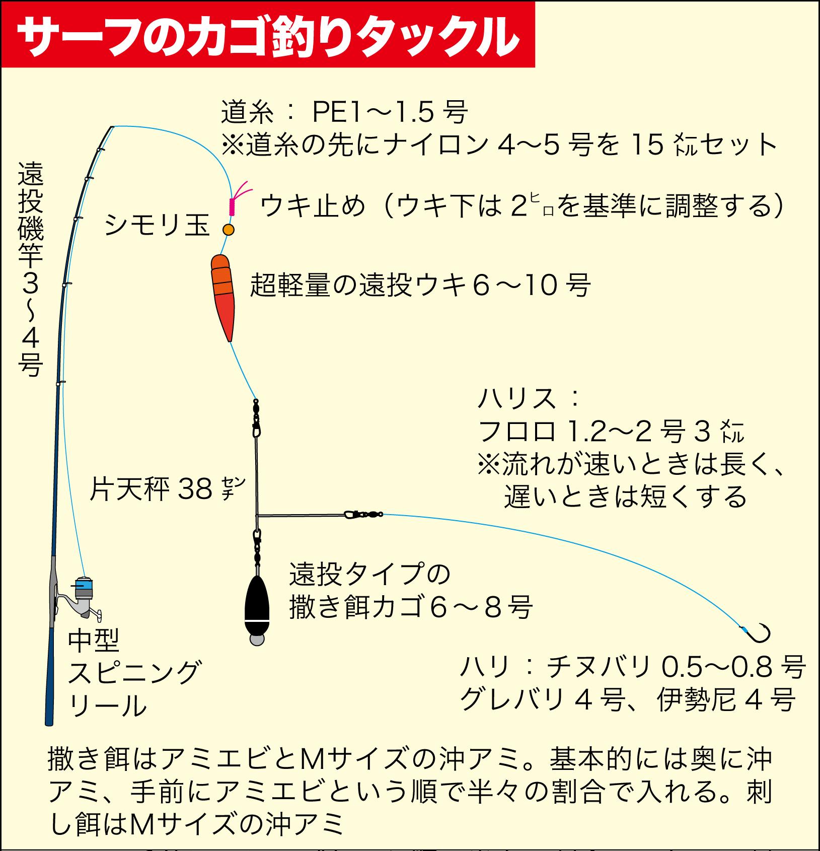 七里御浜カゴ釣りプラン3