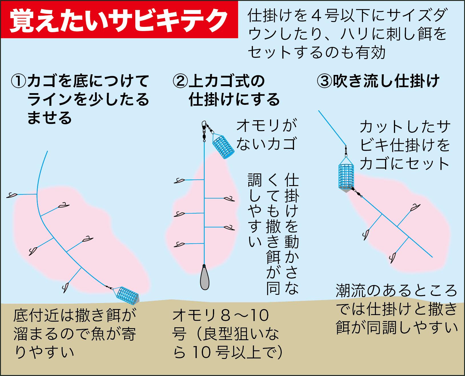 サビキ釣りスズナリ3-13