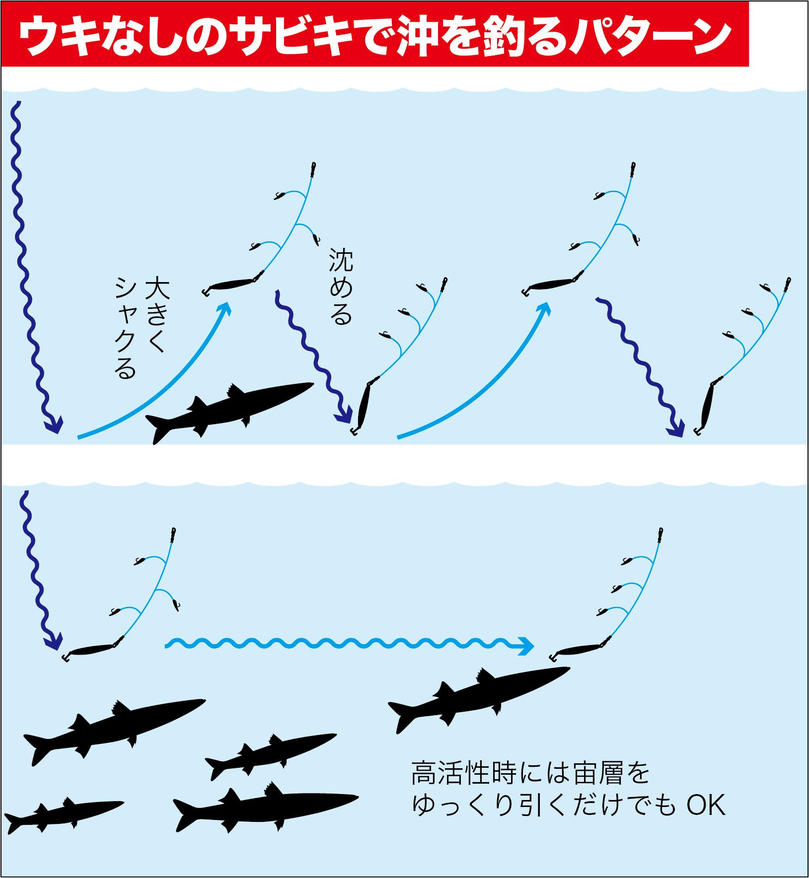 カマスの釣り方17