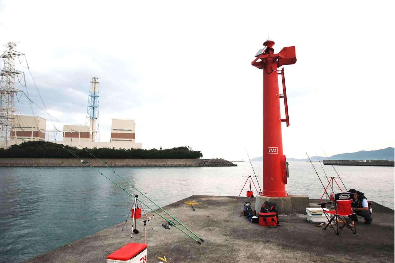 北港ヨットハーバーと南塩屋漁港9