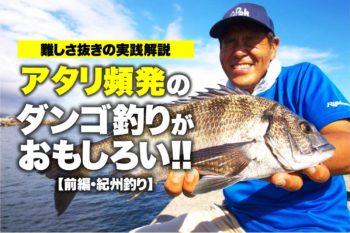 難しさ抜きの実践解説|アタリ頻発のダンゴ釣りがおもしろい!!【前編・紀州釣り】