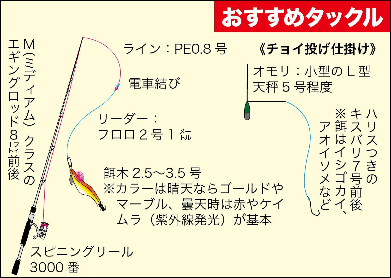 エギング+α神子漁港2