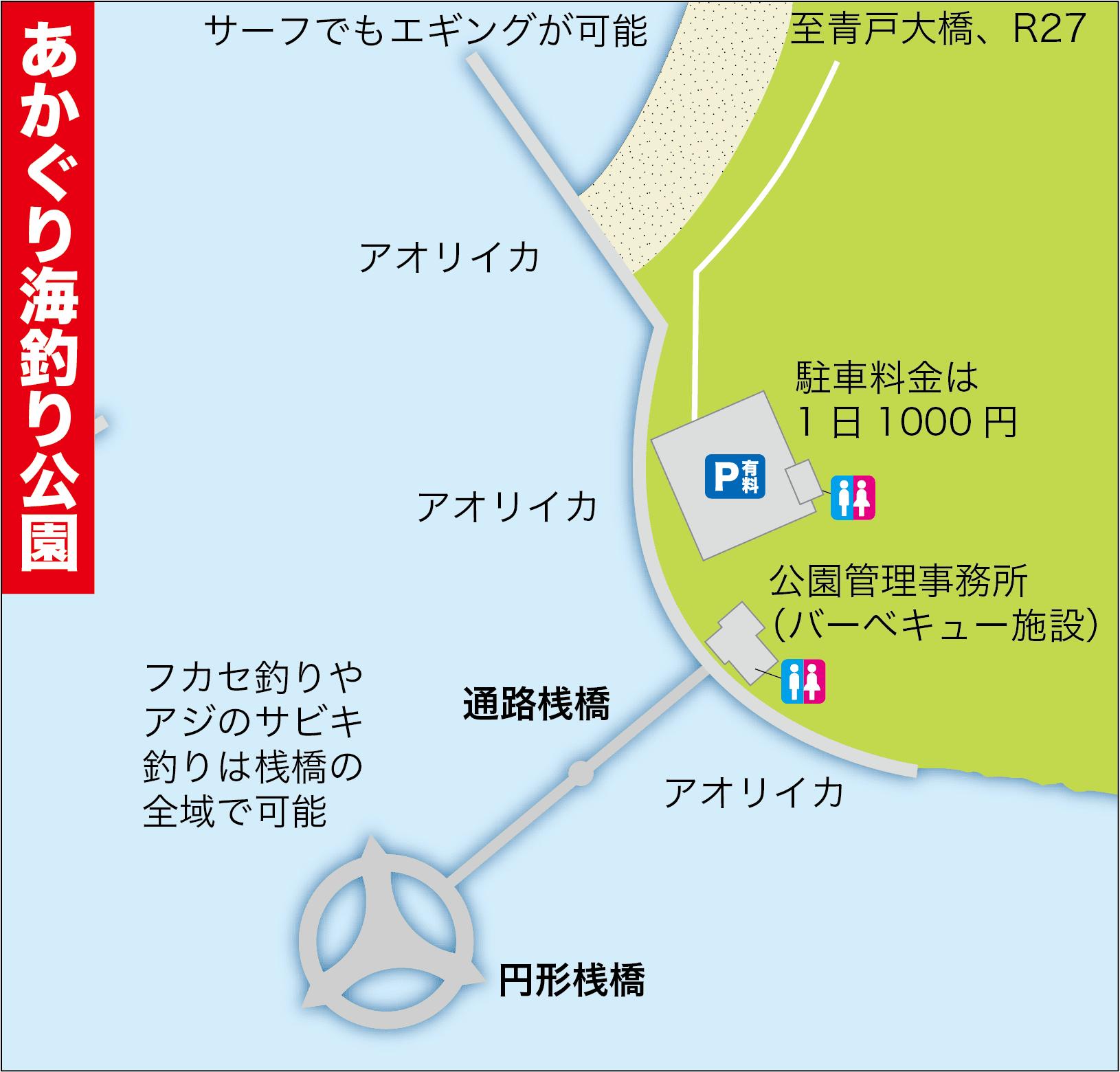 あかぐり海釣り公園の遊び方10