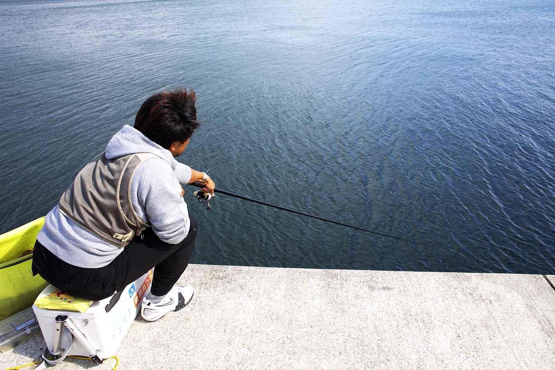 QA紀州釣り向かい風3