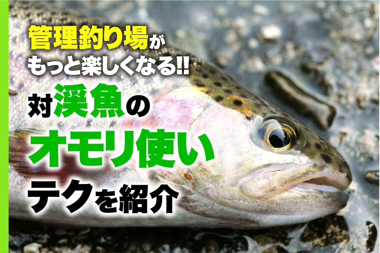 ニジマス管理釣り場オモリ使い1