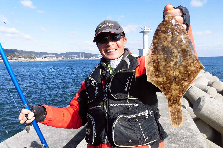 神明〜淡路島投げ釣りカレイ7