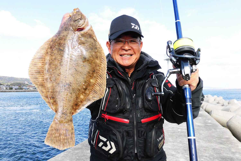 神明〜淡路島投げ釣りカレイ14