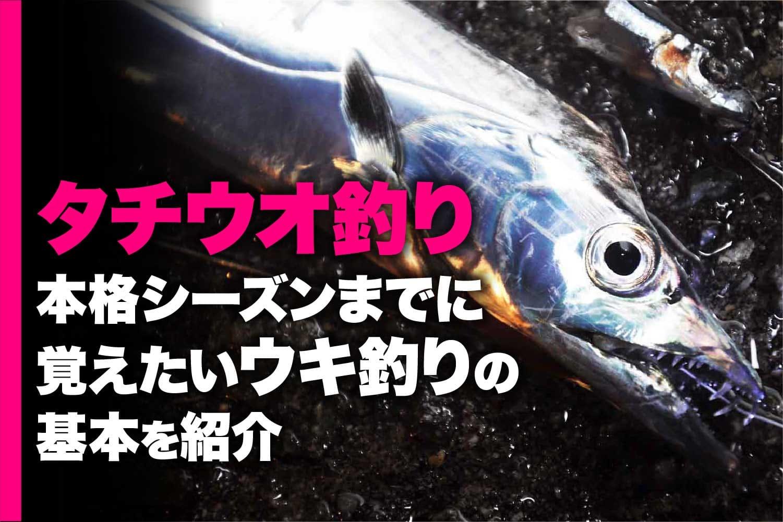 タチウオ釣り基本1