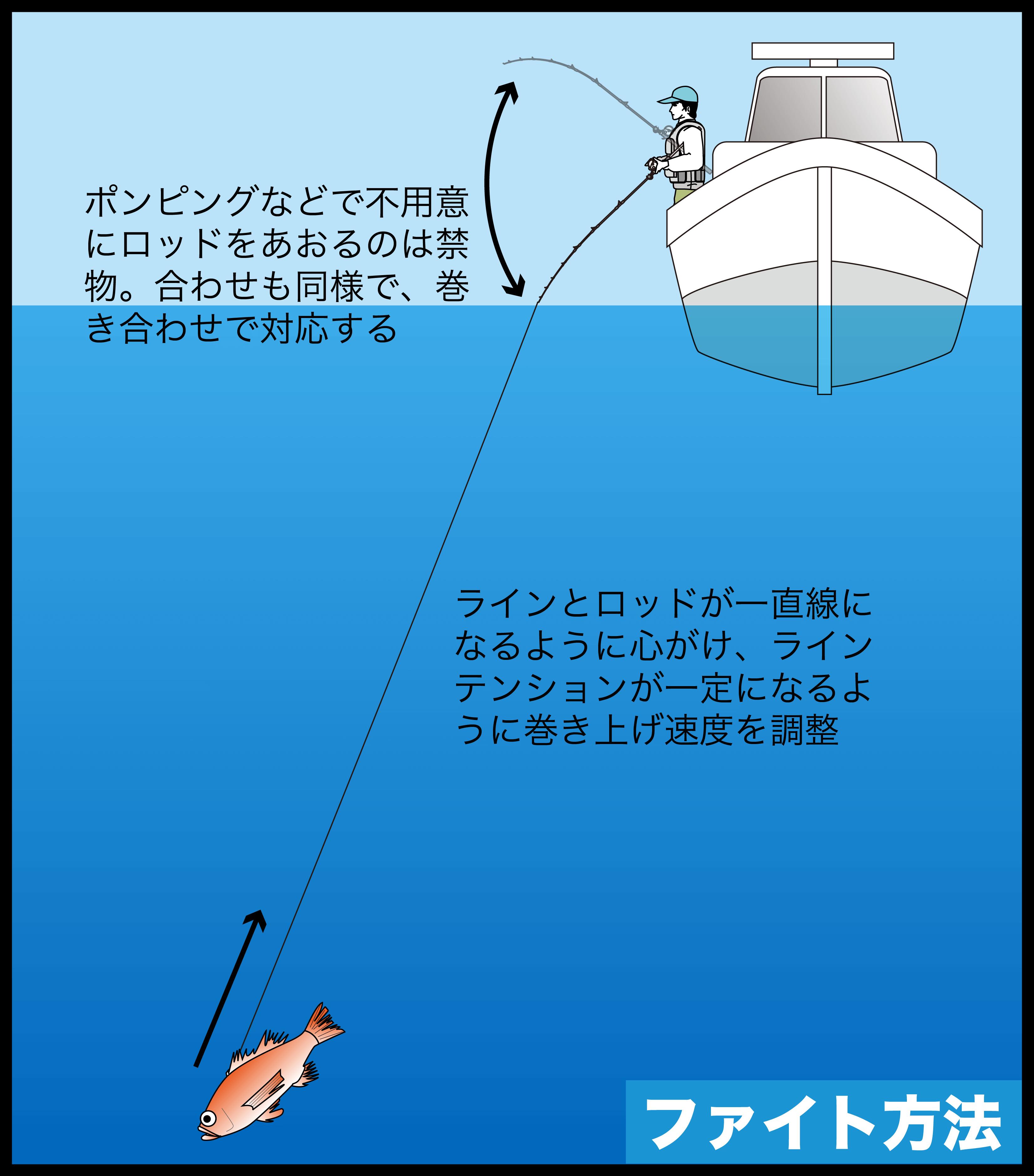 中深海ジギング アカムツ6