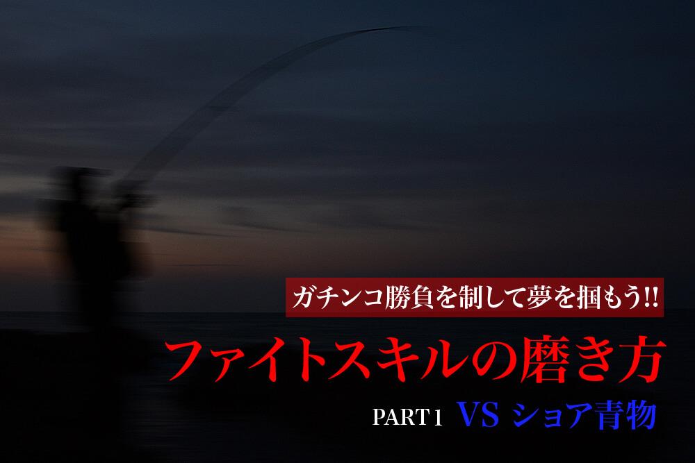 磯の青物ゲーム ファイト1