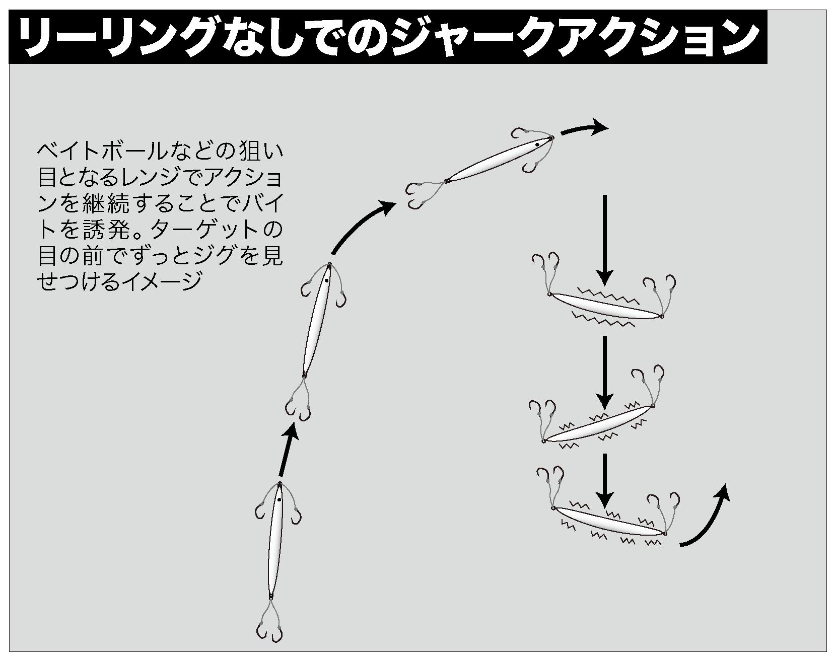 オフショアジギング セミロングジグ3