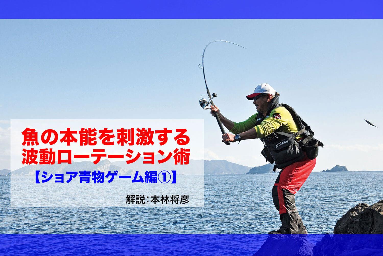 ショア青物ゲーム 波動1