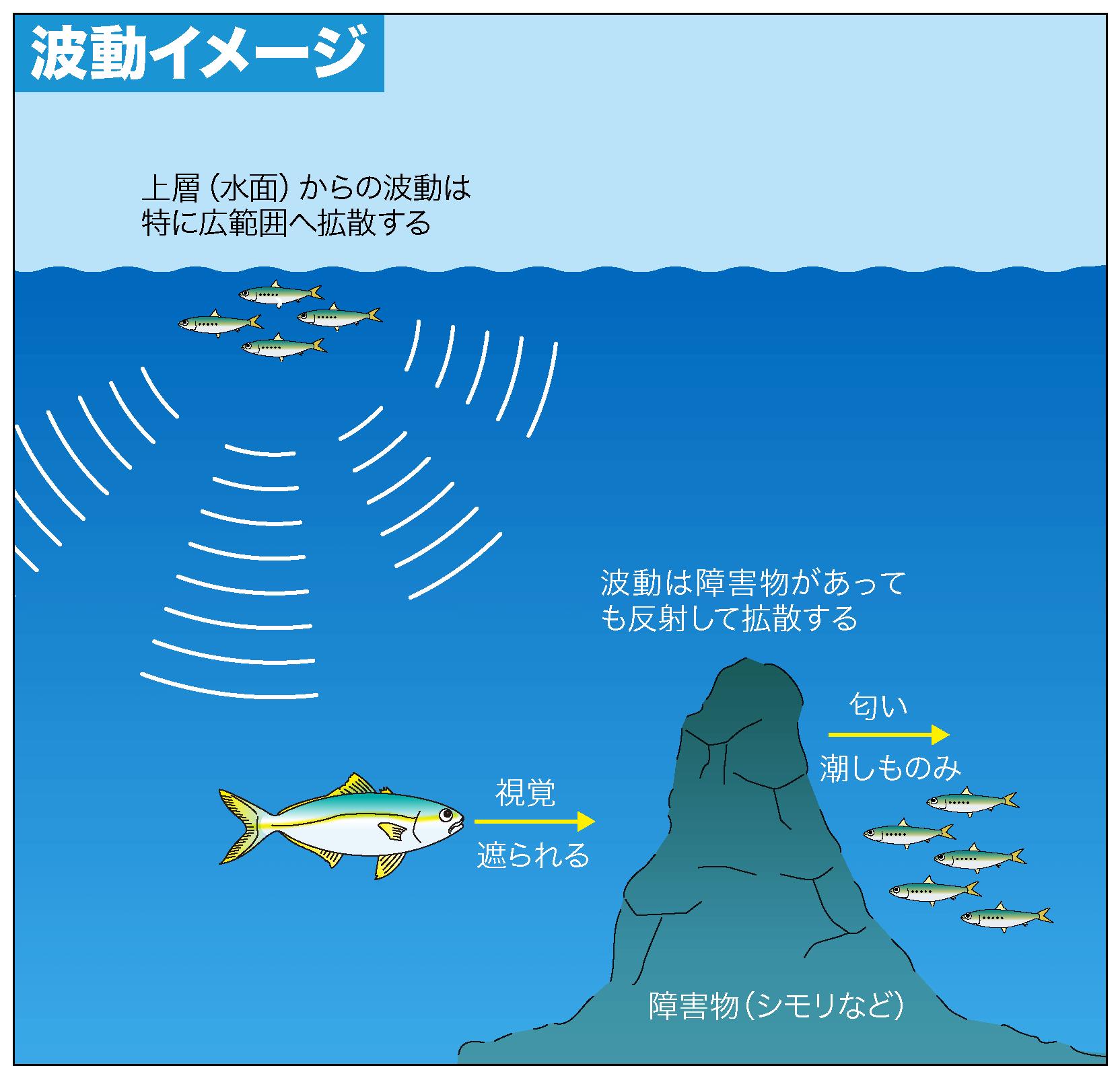 ショア青物ゲーム 波動2