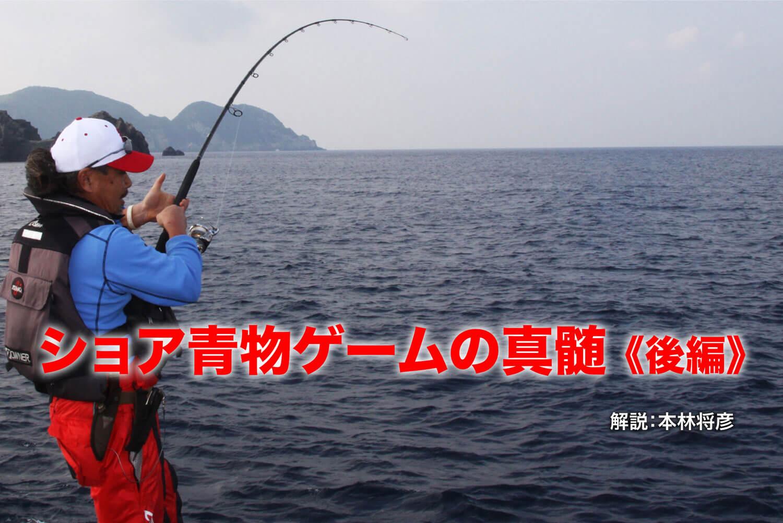 ショア青物ゲーム 釣り方8