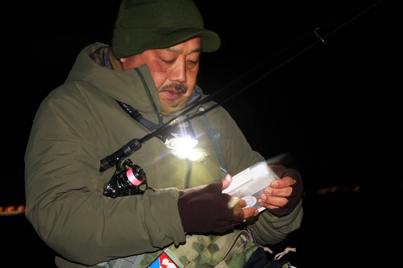 冬のメバル釣り ジグヘッド5