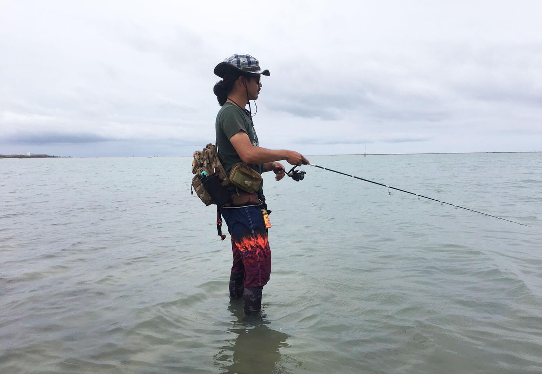 沖縄の釣り メッキ・ロウニンアジ2