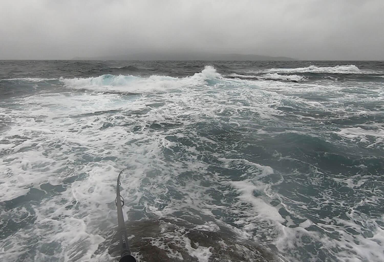 磯のヒラスズキゲーム 長崎県・五島列島の釣り3