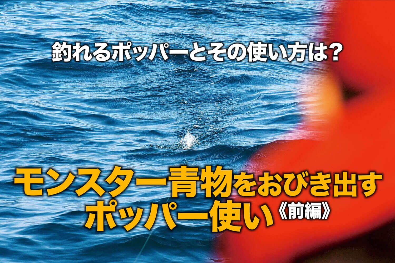 ショア大型青物 ポッパー1
