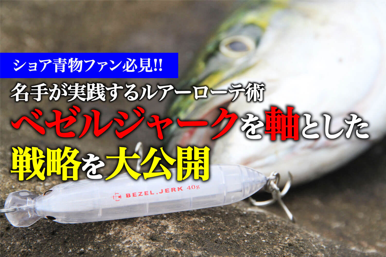 ショア青物ゲーム用ルアー ブリ・メジロ・サワラ・サゴシ1