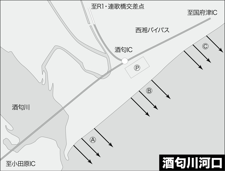 ショア青物ゲーム・ショアジギング・青物ポイント2